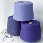 сверху - сиреневый 22173, снизу слева темно-фиолетовый 22251, справа фиолетовый 23420