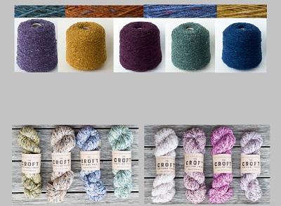 Оригинальные твиды: Mohair Tweed, Soft Donegal Tweed  и Shetland Aran Tweed